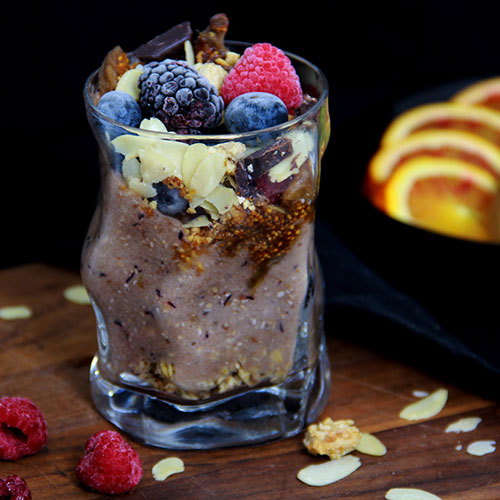 Smoothie bananes et figues