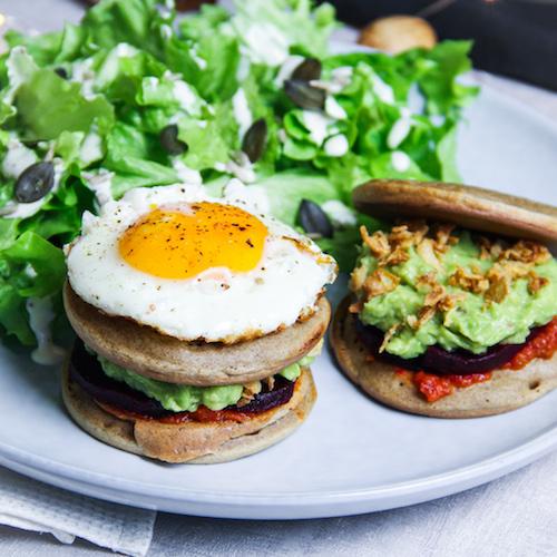 Burger vegetarien au sarrasin - IG bas