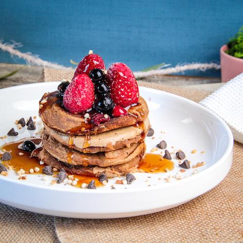 Pancakes vegan et ig bas