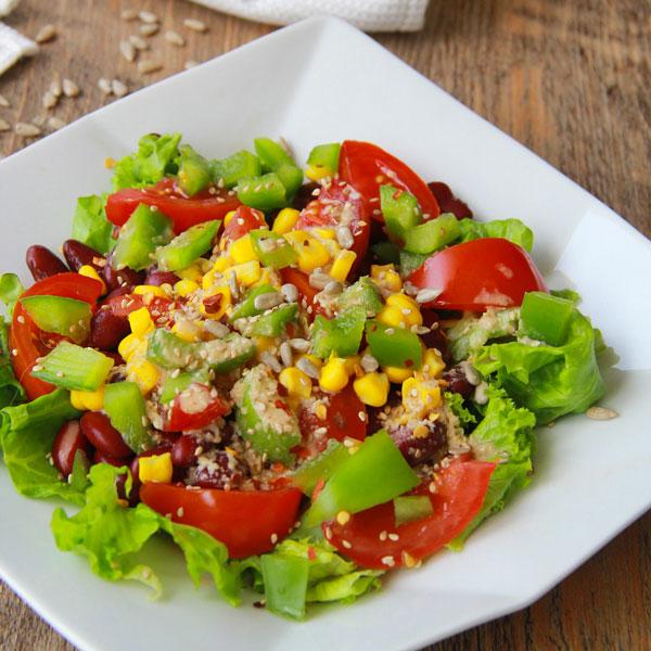 Salade mexicaine végétarienne